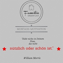 Motivation Ordnung Zitat