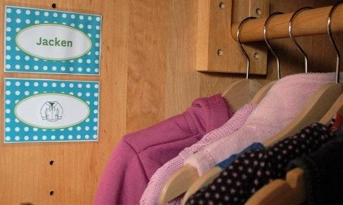 Ordnung-Kinderzimmerschrank