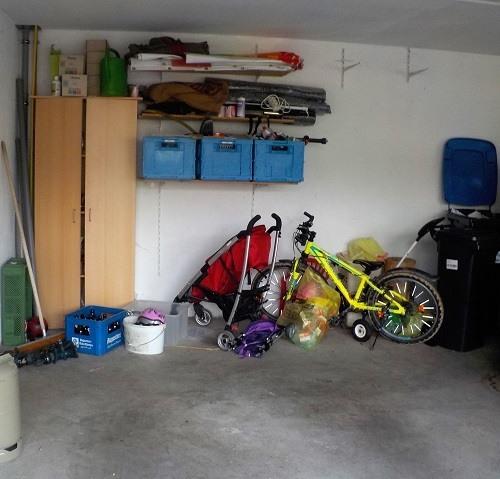 unordnung Garage Chaos