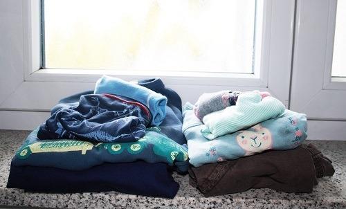 Organisation Kleidung Kinder