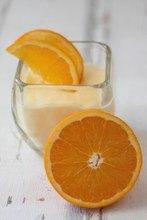 Nachtisch Orange Kinder
