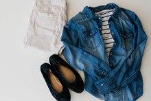 Kleidung minimalistisch